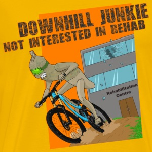Downhill Junkie - Men's Premium T-Shirt