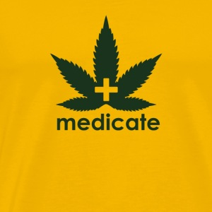 Medicate Supporter - Men's Premium T-Shirt
