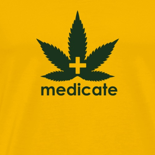 Medicate Supporter - Men's Premium T-Shirt