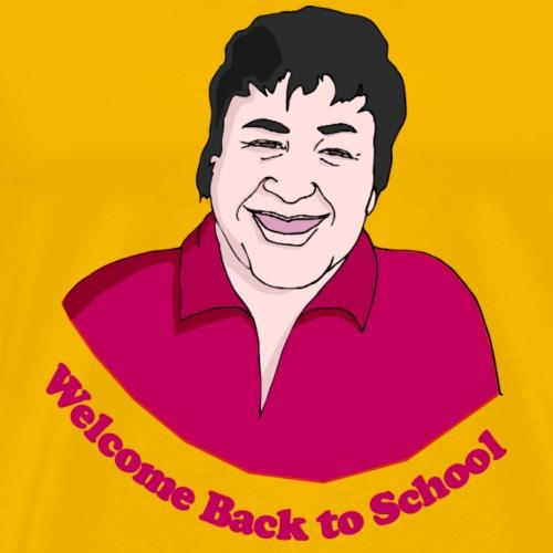Welcome Back to School - Men's Premium T-Shirt