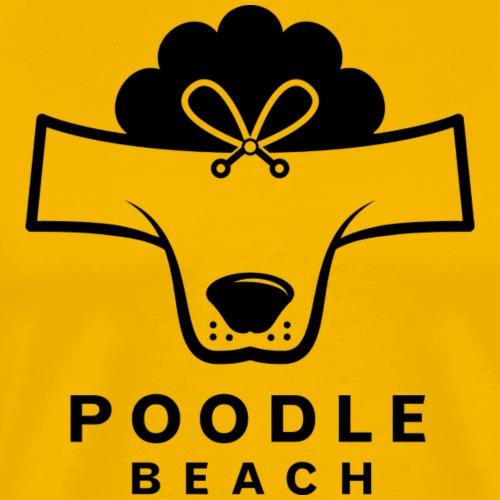 Poodle Beach - Men's Premium T-Shirt