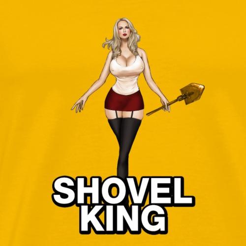 duty of call shovel King - Men's Premium T-Shirt
