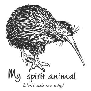 Kiwi Spirit Animal - Men's Premium T-Shirt