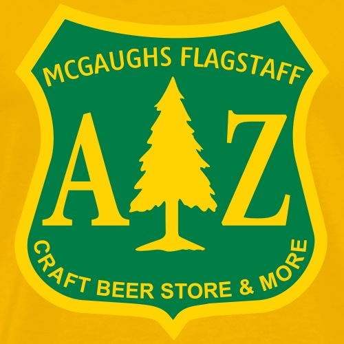 MCGAUGHS FLAGSTAFF Department of Beer-Culture II - Men's Premium T-Shirt