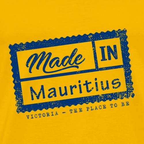Made In Mauritius Stamp - VICTORIA - Men's Premium T-Shirt