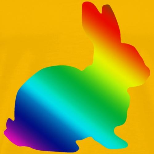 LGBT Rabbit - Men's Premium T-Shirt