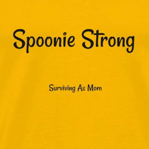 Spoonie Strong black - Men's Premium T-Shirt