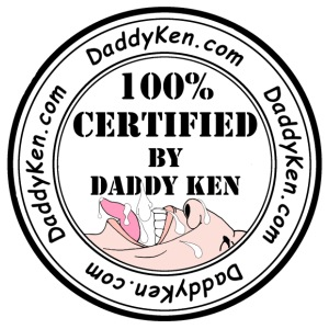 Daddy Ken Certification 3W - Men's Premium T-Shirt