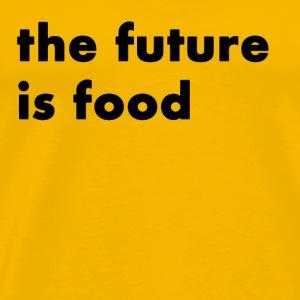 The Future is Food - Men's Premium T-Shirt