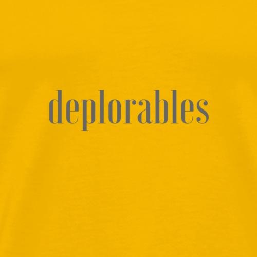 deplorables - Men's Premium T-Shirt