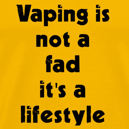Vaping Quote - Men's Premium T-Shirt
