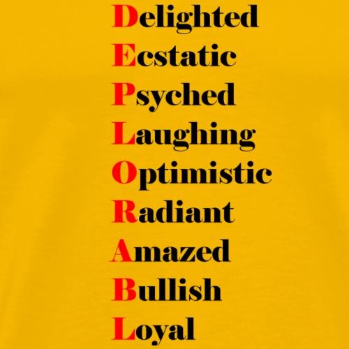 deplorable-dark - Men's Premium T-Shirt