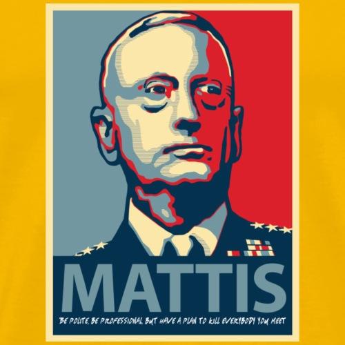 Mattis Quote - Men's Premium T-Shirt