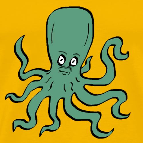 Octopus Turquoise - Men's Premium T-Shirt