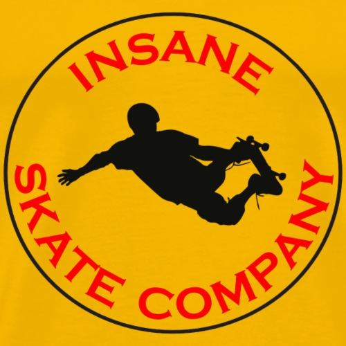 INSANE SKATE COMPANY CIRCLE - Men's Premium T-Shirt