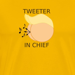 DONALD TRUMP TWEETER IN CHIEF IMPEACH HIM! - Men's Premium T-Shirt