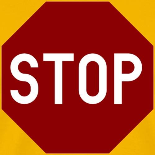 STOP sign - Men's Premium T-Shirt