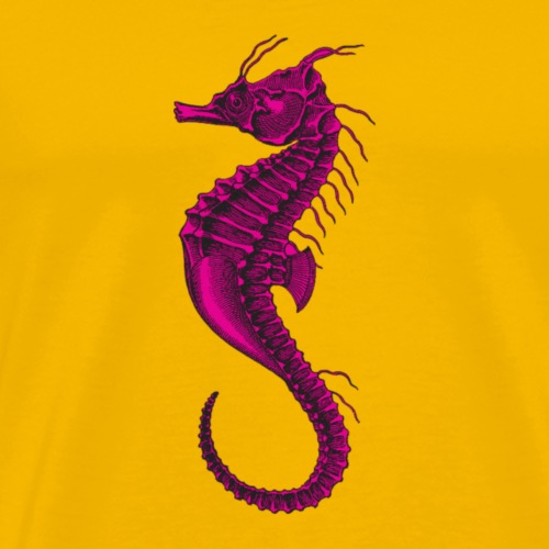 Pink Seaorse - Men's Premium T-Shirt