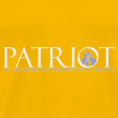 PATRIOT-SAM-USA-LOGO-REVERSE - Men's Premium T-Shirt