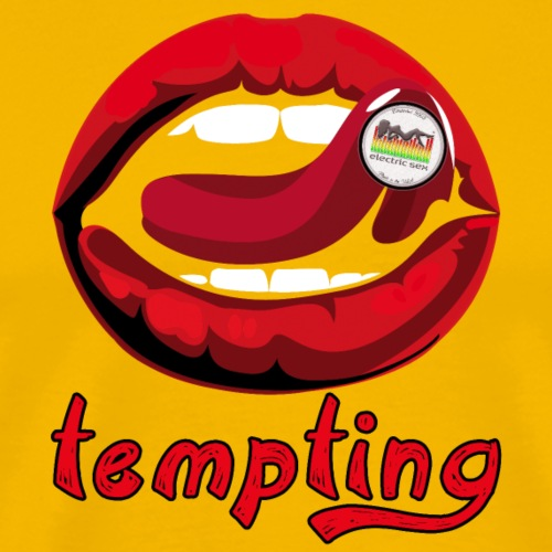 Tempting Lips [Apparel] - Men's Premium T-Shirt