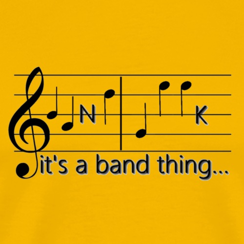 Band Geek T-shirts and Gifts - Men's Premium T-Shirt