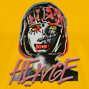HEWGE LADY GIRL ORIGINAL DESIGN - Men's Premium T-Shirt