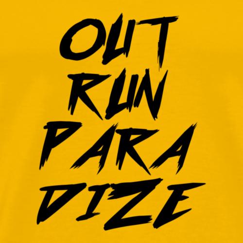 Outrun Paradize - Men's Premium T-Shirt