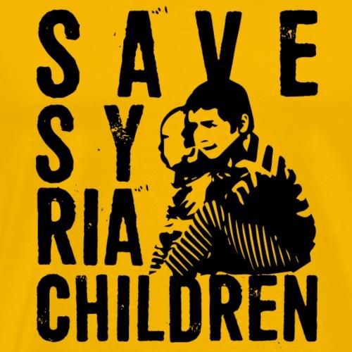 save syria children - Men's Premium T-Shirt