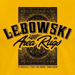 Lebowski Area Rugs - Men's Premium T-Shirt