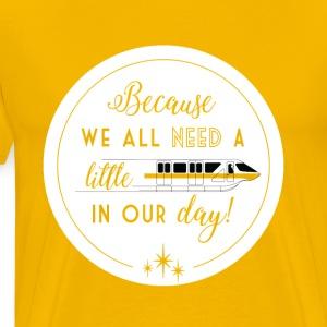 Monorail - Men's Premium T-Shirt
