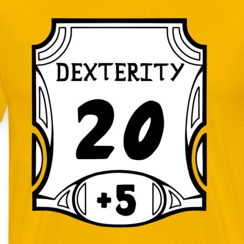 Alternate All of the Dexterity - Men's Premium T-Shirt