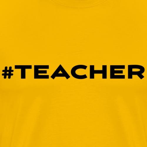 TEACHER 3x - Men's Premium T-Shirt