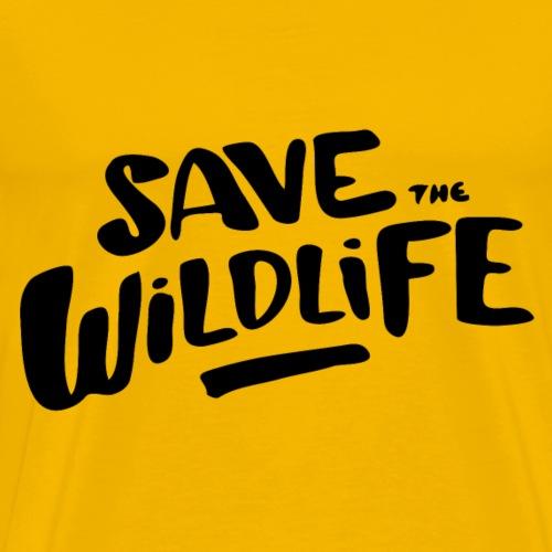 Save the Wildlife - Men's Premium T-Shirt