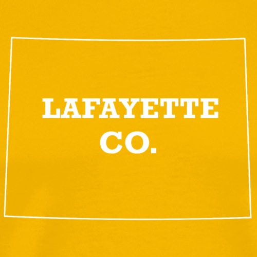 Lafayette, Colorado - Men's Premium T-Shirt