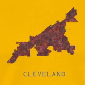 cleveland red - Men's Premium T-Shirt