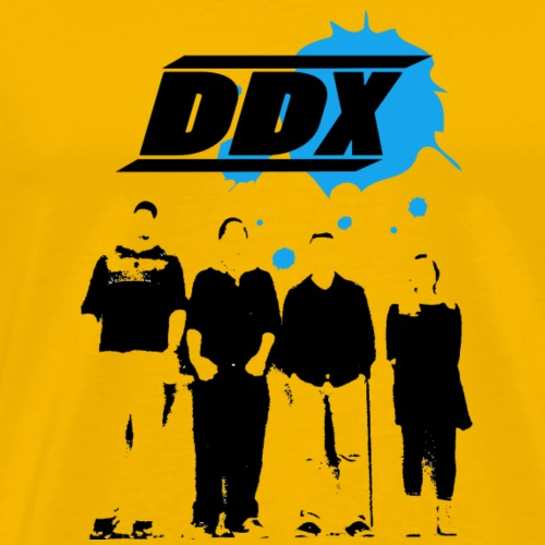 DDX Blue - Men's Premium T-Shirt