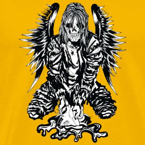 Winged Horror Man - Men's Premium T-Shirt