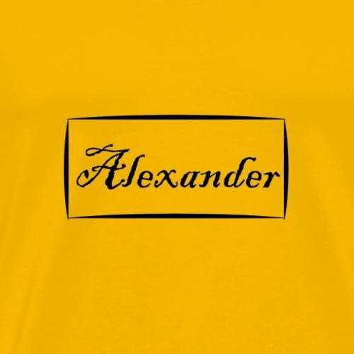 Alexander - Men's Premium T-Shirt