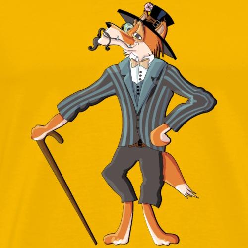 Foxy gentleman - Men's Premium T-Shirt
