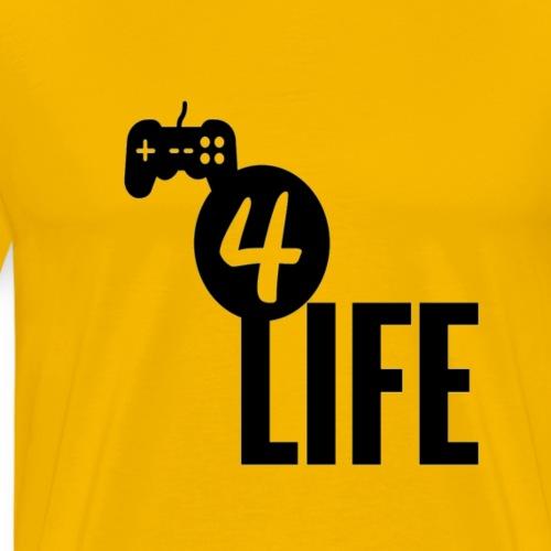Gamer4life - Men's Premium T-Shirt