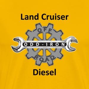 ODIO Land Cruiser Diesel Shirt Black 8 27 2017 - Men's Premium T-Shirt