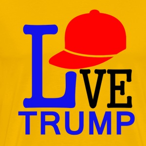TRUMP Cap DESIGNS - Men's Premium T-Shirt