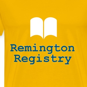 Remington Registry - Men's Premium T-Shirt