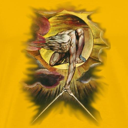 William Blake's The Ancient of Days - Men's Premium T-Shirt