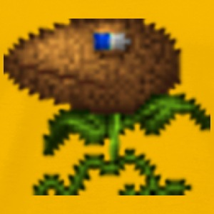 Pixel Plant Monster - Men's Premium T-Shirt
