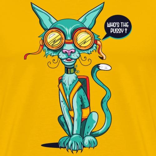 THE X-CAT - Men's Premium T-Shirt