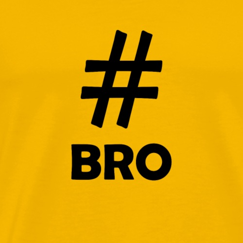 Bro Black - Men's Premium T-Shirt