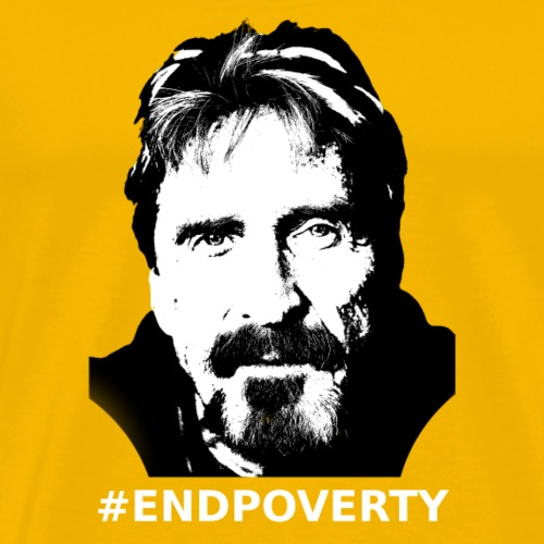 End Poverty - Men's Premium T-Shirt