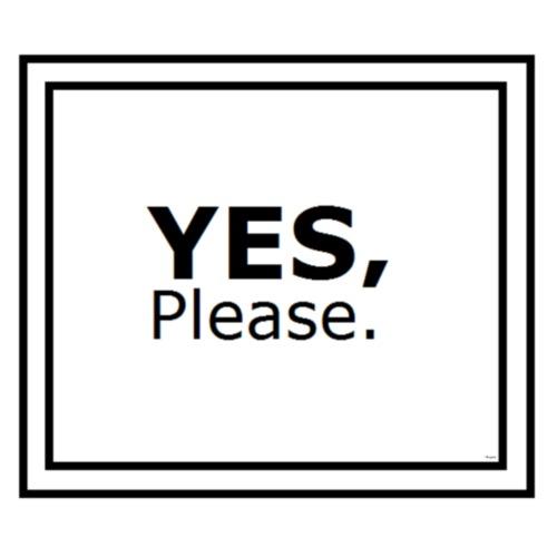 Yes Please - Men's Premium T-Shirt