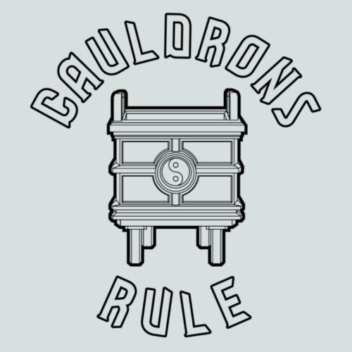 Cauldrons Rule (black) - Men's Premium T-Shirt
